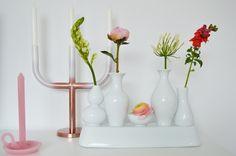 Tallow, Pols Potten candleholder and Pols Potten Shanghai vase -BijzonderMOOI* - dutch design online