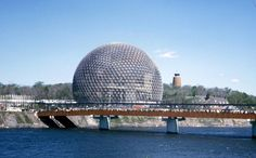 American Pavilion at the Montreal Expo in Montreal Quebec Canada 1967