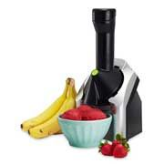 YONANAS-CHANGES FRUITS INTO YUMMY SORBETS- NO SUGAR NEEDED; $50.00 ON AMAZON.