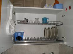 Italian dish drying cabinet