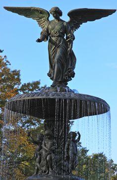 Bethesda Fountain, Central Park, New York City. photo by amycoady