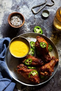 Ultimate Hot Wings via Bakers Royale//tailgate recipes