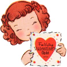 Free Vintage Valentines Day Clip Art | *Free ♥ Pretty ♥ Things ♥ For ♥ You*