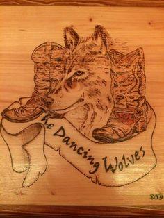 Holzschild Brandmalerei by DSD Handmade, Hand Made, Handarbeit