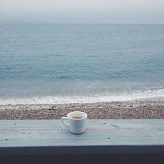 Moment'S with my coffee sommerfrische, eiskaffee, urlaub am meer, guten morgen kaffee, I Love Coffee, Coffee Break, My Coffee, Morning Coffee, Coffee Gifts, Black Coffee In Bed, Monday Coffee, Cheap Coffee, Coffee Logo