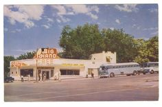 1950S postcard   Big Hand Cafe - St. George Utah 1950s Postcard