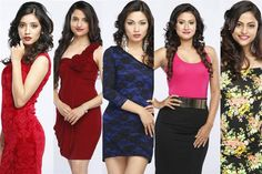 Miss Nepal 2015 Top 5 Favourites/ Winners