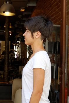 Perfect Haircut for Summer: Rough-Cut Undercut – Bell-shaped Bob | Hairstyles Weekly
