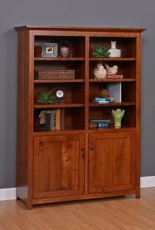 Delightful Add Doors To Most Bookcase Styles|50+ Ways To Personalize Your Amish ·  Hardwood FurnitureAmish FurniturePittsburghBookcases