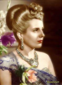 Foto en Italia 1947 History Photos, Royalty, Actresses, Celebrities, People, Model, Llamas, Beauty, Portal