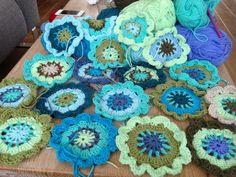 Japanese  flower crochet