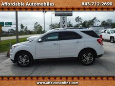 Used 2016 Chevrolet Equinox LTZ AWD for Sale in Myrtle Beach SC 29577 Affordable Automobiles