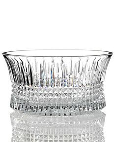 Waterford Crystal Bowl, Lismore Diamond - Bowls & Vases - for the home - Macy's