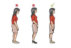 Bad posture is so ugly! Please help yourself. 5 Best Posture Exercises – Say GoodBye To Bad Posture Perfect Posture, Good Posture, Improve Posture, Better Posture Exercises, Stretching Exercises, Hiit, Singing Exercises, Chiropractic Care, Posture Correction