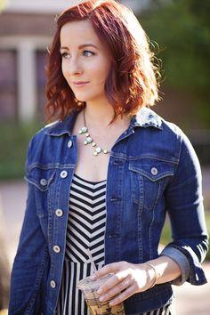 Striped Maxi Dress Love // Stripes & Stilettos