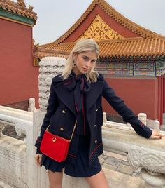 Forbidden city - Beijing 🇨🇳 thank you . Paris Outfits, Winter Outfits, Casual Outfits, Fashion Outfits, Star Fashion, Daily Fashion, Women's Fashion, Cute Shoes Heels, Wendy's Lookbook