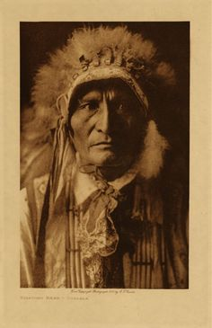 """Standing Bear~Ponca Native American chief who successfully argued in U.S. District Court in 1879 in Omaha that Native Americans are """"persons within the meaning of the law"""" and have the right of habeas corpus. ~Wiki."""