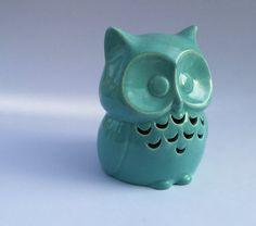 Ceramic Owl Home Decor Yard Decoration Porch Patio Yard by DabaDos