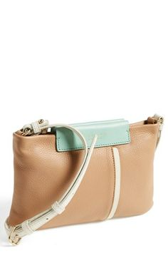 MARC BY MARC JACOBS 'Round the Way Girl - Percy' Leather Crossbody Bag | Nordstrom.  LOVE Marc Jacobs' colors.  Fabulous!