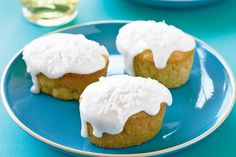 Mini Apple and Coconut Cakes. These were delicious and so easy to make too. Definitely a keeper this recipe.  http://j.gs/6379512/miniapplecoconutcakes