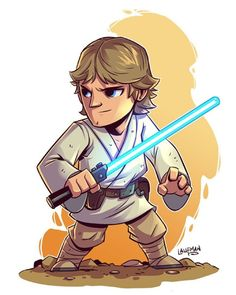Anakin Skywalker - by Derek Laufman