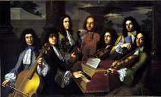 Anton Domenico Gabbiani, Musici del granprincipe Ferdinando (1685 circa), ); Firenze, Galleria palatina (in deposito temporaneo alla Galleria dell'Accademia).