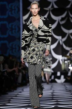 #KarlieKloss for #DVF #FW14 #RTW at #NYFW.
