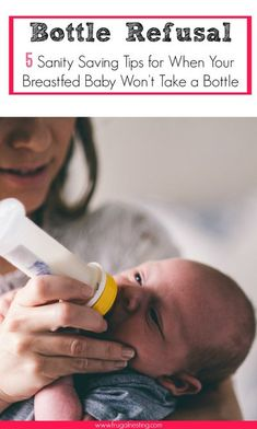 Bottle Refusal: How To Get a Breastfed Baby to Take a Bottle. Tips to help you return to work from maternity leave or just go out of the house for a bit! #BottleRefusal #BottleFeeding #BreastFedBaby New Dads, New Parents, Kids Fever, Return To Work, After Baby, Little Doll, First Time Moms, Breastfeeding Tips, Breastfeeding Problems
