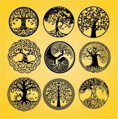Life of tree tree cut file tree cut out tree dxf vector Norse Tattoo, Celtic Tattoos, Viking Tattoos, Texas Longhorns, Tattoo Life, Body Art Tattoos, Small Tattoos, Tatoos, Tree Cut Out