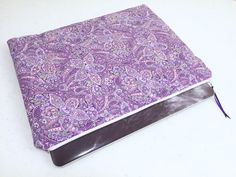 Purple Paisley 13 inch Macbook/Macbook Pro Laptop by MadebyMeaganA