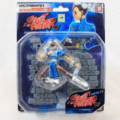 Street Fighter II 2 Chun-Li Microman Figure MA-11 Takara JAPAN GAME CAPCOM