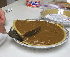 CARMEL PIE, using the heating condensed milk recipe. I will use a GF pie shell of course!