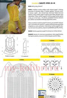 Потрясающе красивое пляжное платье крючком, станет настоящим сокровищем в вашем летнем гардеробе. Это вязаное пляжное платье крючком можно носить не только во время отпуска, но и в качестве туники с лосинами или леггинсами. Размер: 38-40 Вам потребуется: 400 г пряжи типа «Perle 8″ от Madame Tricote Paris (100% хлопок, 335 м/50 г), крючок №2 Перед …