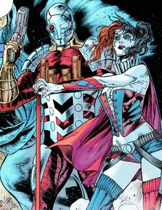 Deadshot & Harley Quinn in Birds of Prey #33