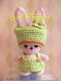 crochet Pattern amigurumi Bunny PDF guide by gurumiorama on Etsy, $3.50