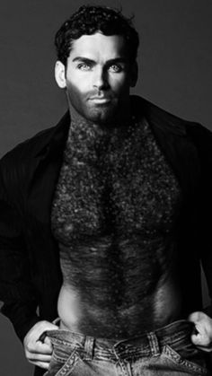 Awesome Beards, Hairy Chest, Hairy Men, Muscle Men, Male Body, Jon Snow, Hot Guys, Daddy, Sexy