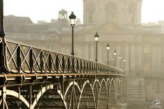 Le pont des Arts - Paris, Ile-de-France