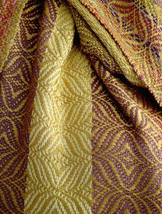 Rayon Scarf Detail 0014 by sapoague, via Flickr