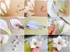 мастер-класс лилия из бумаги