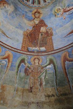 Cristo in gloria Sant'Angelo in Formis. Capua. XI secolo