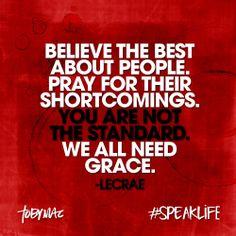 #speaklife #LeCrae