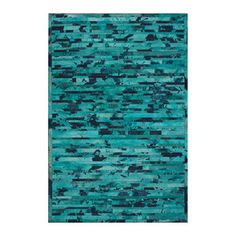 Herringbone 5x8 Turquoise now featured on Fab.