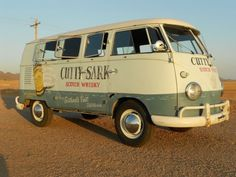 1959 VW Type 2 Cutty Sark --> I wouldn't touch the outside.  Very Cool.
