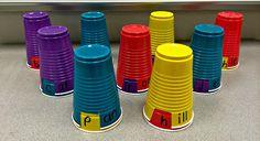 iTeach Kinder: Kindergarten Teaching Resources: Make-It Monday: SOLO Cup Word Work
