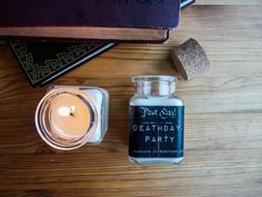 Christmas Special: Spend 40$ and get a mini version for free with your order!  ********************************** The soy candles from our literary candle line are the perfect gift for any book lover! Inspired by the greatest writers and pieces of literature, we capture that feeling we get when reading the perfect story and make it into a beautiful, strongly scented soy candle.  Deathday Party Inspired by one of the greatest series of all time! Sir Nicholas de Mimsy-Porpington celebrates his… Harry Potter Candles, Any Book, Soy Candles, Book Lovers, Writers, All About Time, Literature, Inspired, Reading