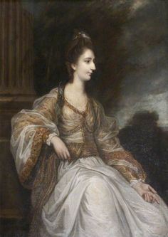 Joshua Reynolds - Lady Christian Henrietta Caroline 'Harriot' Acland, née Fox-Strangways 1771