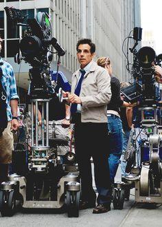 Ben Stiller behind the scenes of The Secret Life of Walter Mitty (2013)