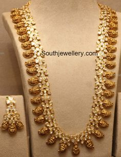 New Model Lakshmi Mango Mala #GoldJewelleryIndian