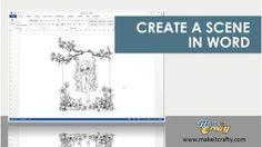 Video: Create a scene in Word