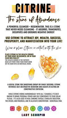 Crystal Uses, Crystal Healing Stones, Crystal Shop, Crystal Magic, Citrine Crystal Meaning, Crystal Meanings, Crystals And Gemstones, Stones And Crystals, Crystal Shelves